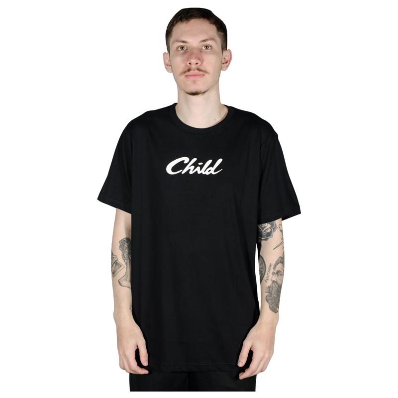 Camiseta Child Font Preta