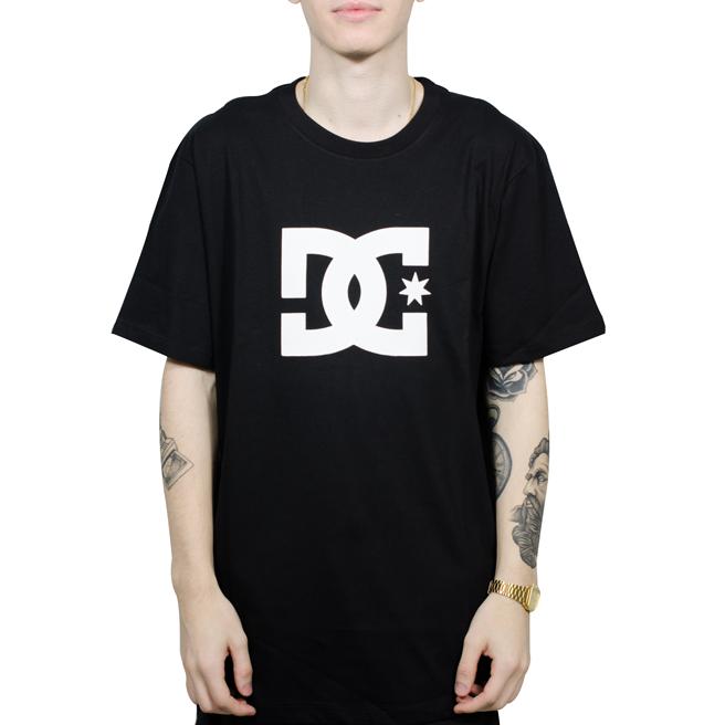 Camiseta DC Basic Star Preta