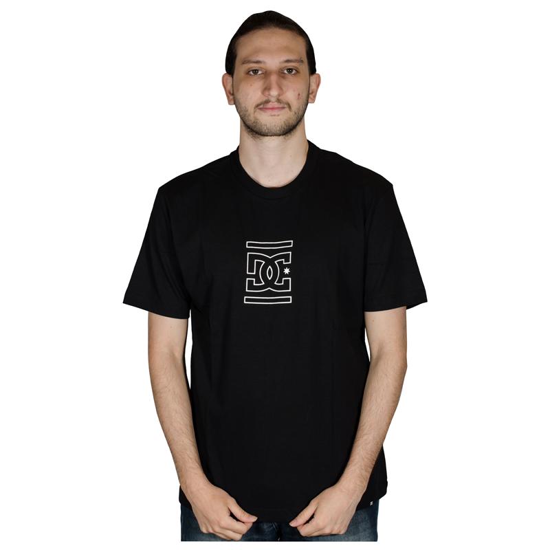 Camiseta DC Past Future Present Preta D471A0169