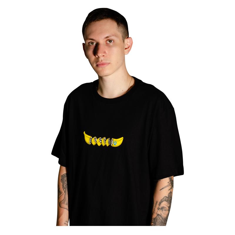 Camiseta DC Shoes Banana Preta