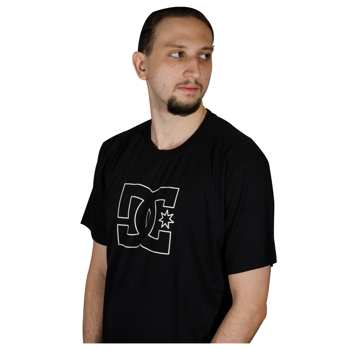 Camiseta DC Shoes  Premium Star- Preto  D471A0170