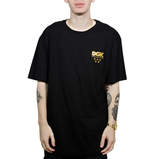 Camiseta DGK All Star Preta