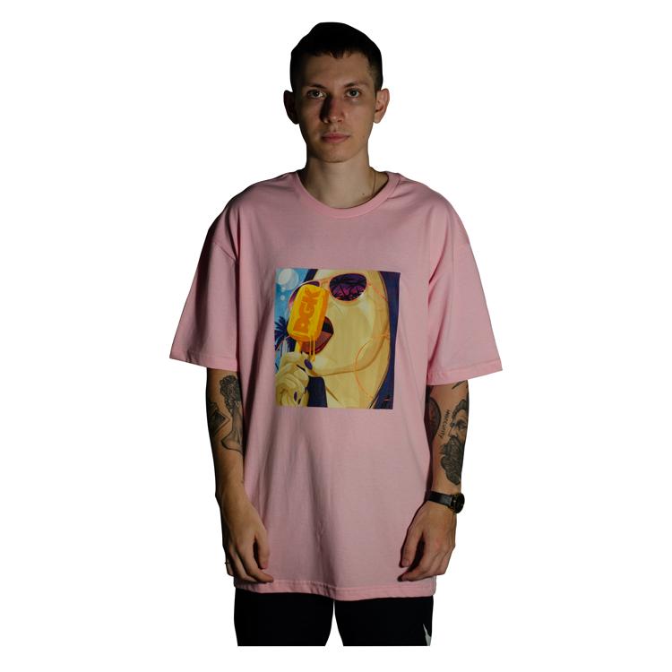 Camiseta DGK Ice Cold Rosa