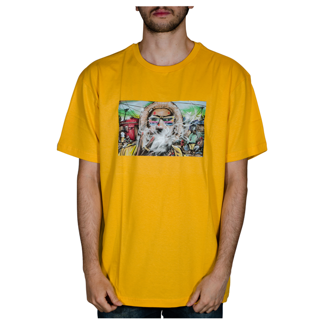 Camiseta DGK Irie Amarela PTM-2199