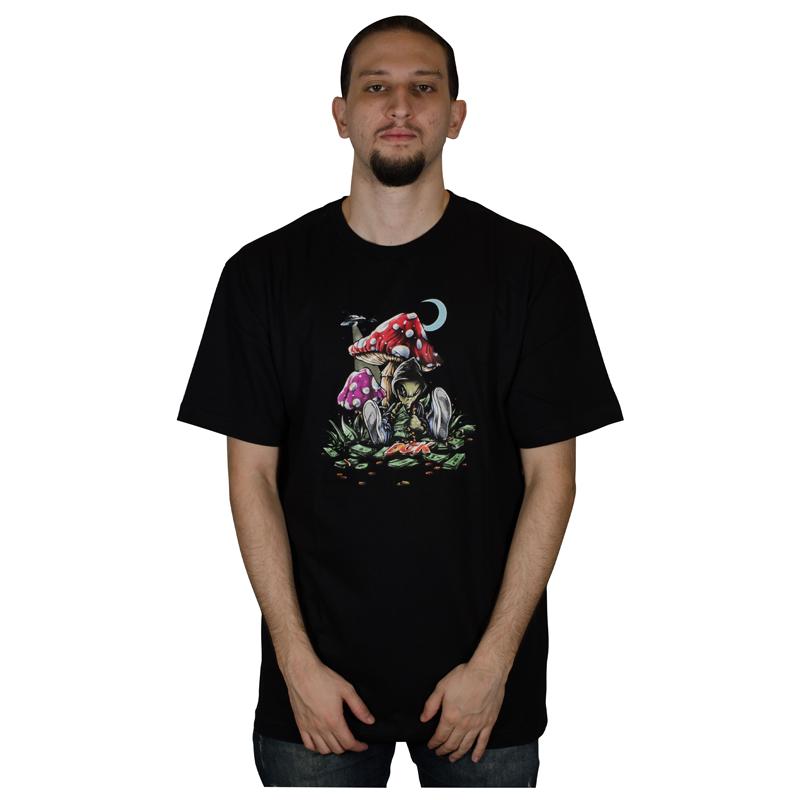 Camiseta DGK Loungin Tee - Preta PTM-2193