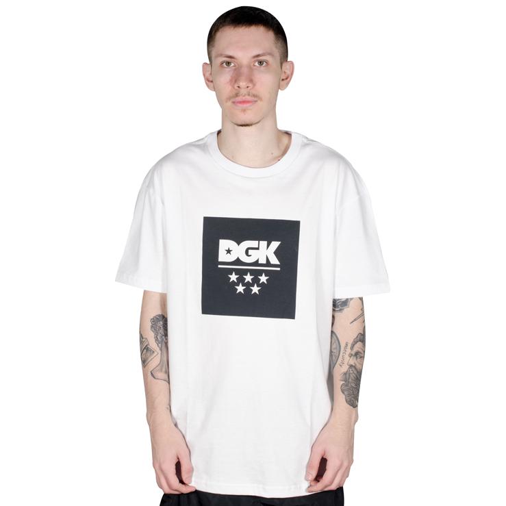 Camiseta DGK New All Star Branca