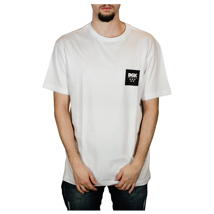 Camiseta DGK New All Star Branca I20DGC02