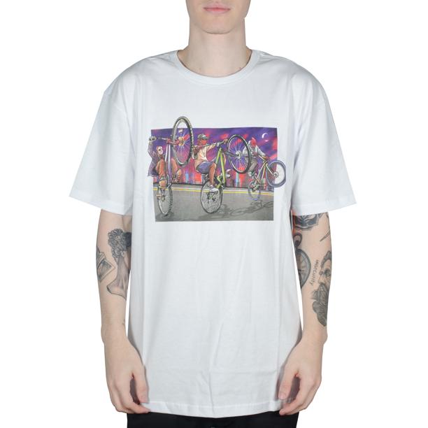 Camiseta DGK Squad Tee Branca
