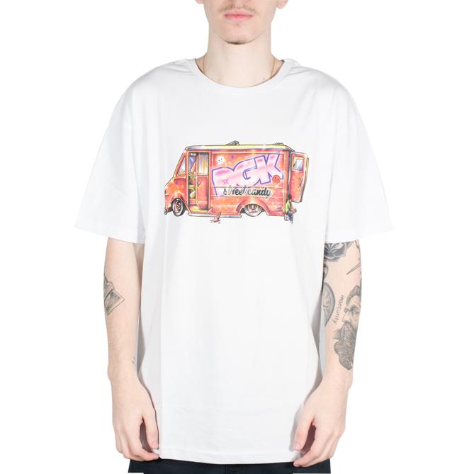 Camiseta DGK Street Candy Branca