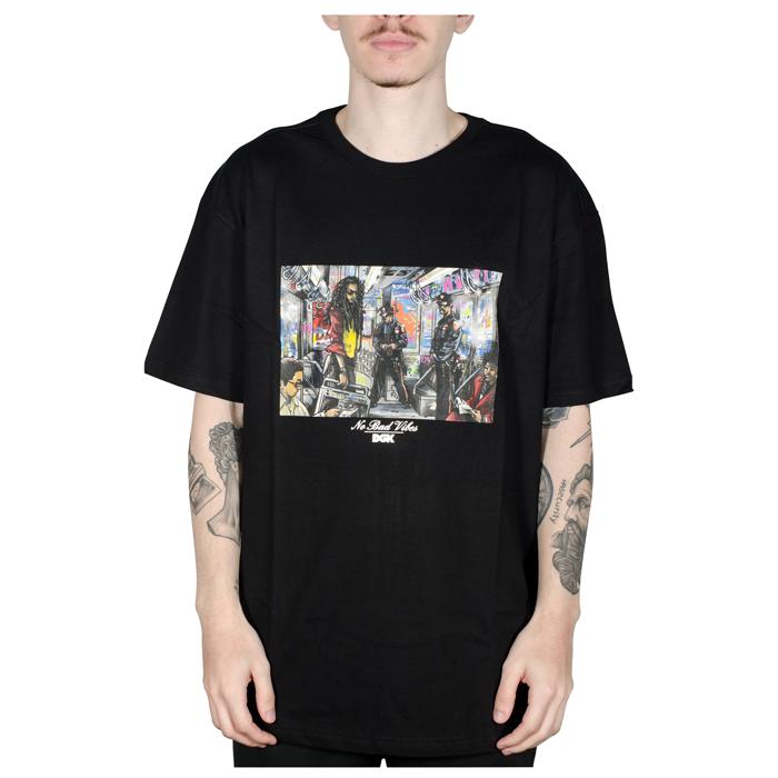 Camiseta DGK Trenchtown Tee Preta