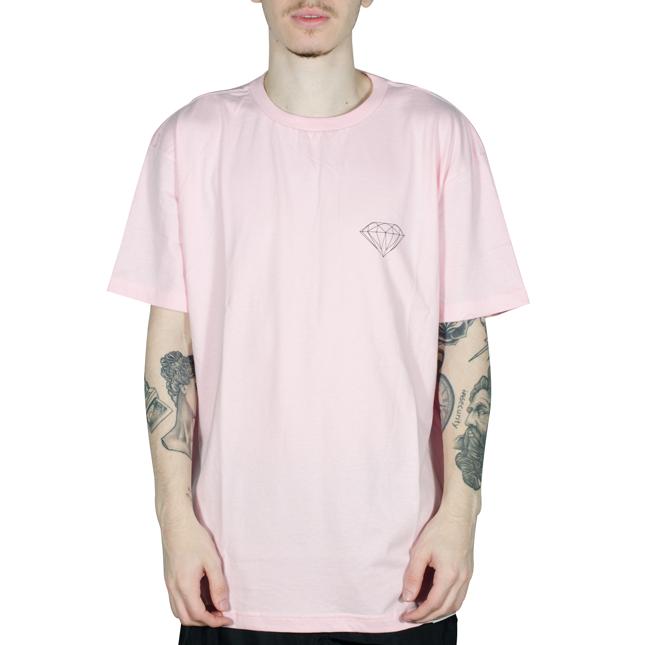 Camiseta Diamond Brilliant Big Rosa