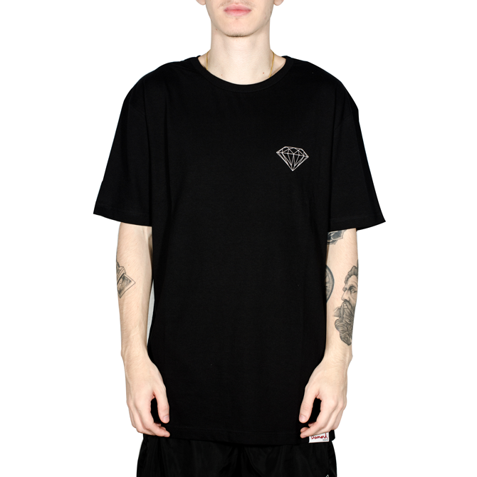 Camiseta Diamond Brilliant Preta