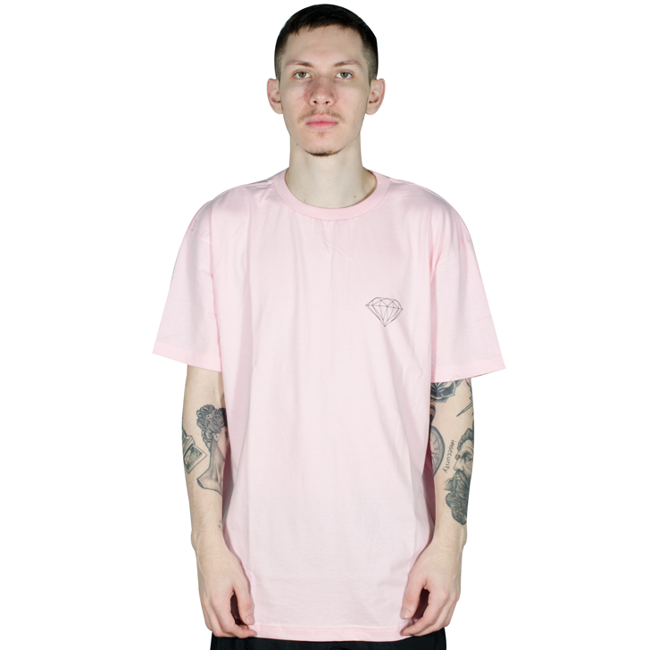 Camiseta Diamond Brilliant Rosa