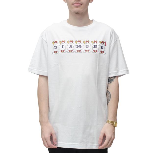 Camiseta Diamond Diablo Branca
