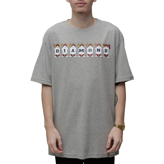 Camiseta Diamond Diablo Cinza