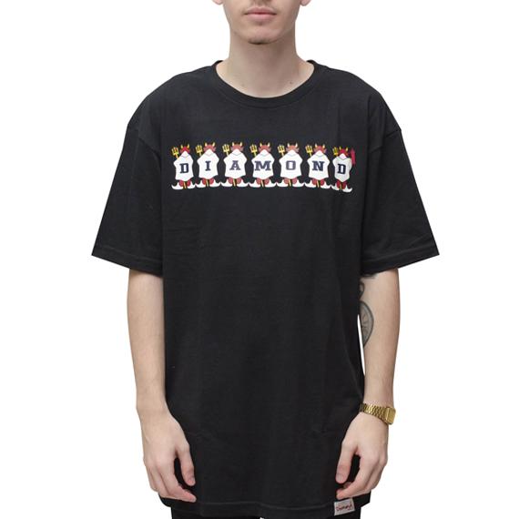 Camiseta Diamond Diablo Preta