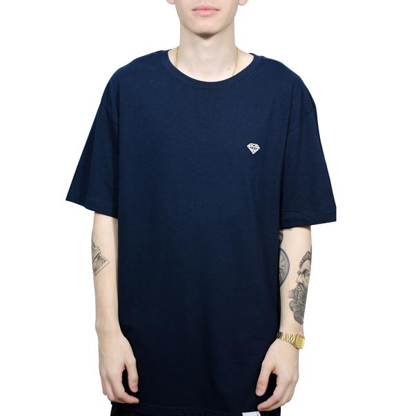 Camiseta Diamond Mini Brilliant Azul Marinho