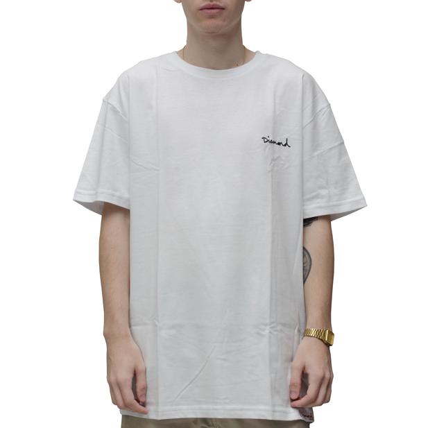 Camiseta Diamond Mini OG Script Branca