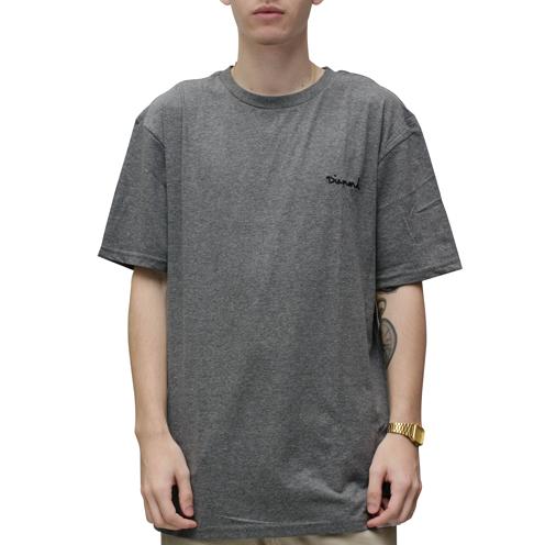 Camiseta Diamond Mini OG Script Cinza