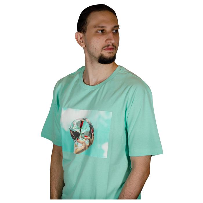 Camiseta Diamond Will Dmnd Sky Verde agua D19BR001