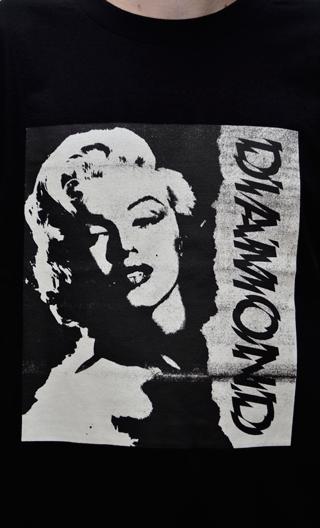 Camiseta Diamond x Marylin Monroe Preto