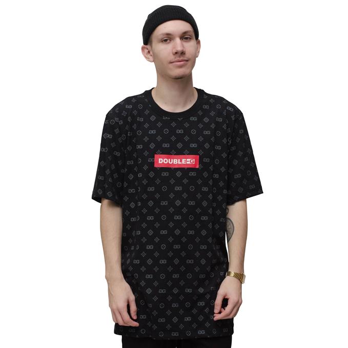 Camiseta Double-G Print Preta