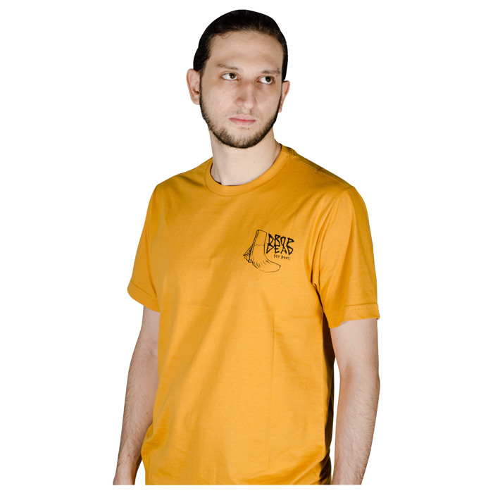 Camiseta Drop Dead Diy Dept Amarela 70241011