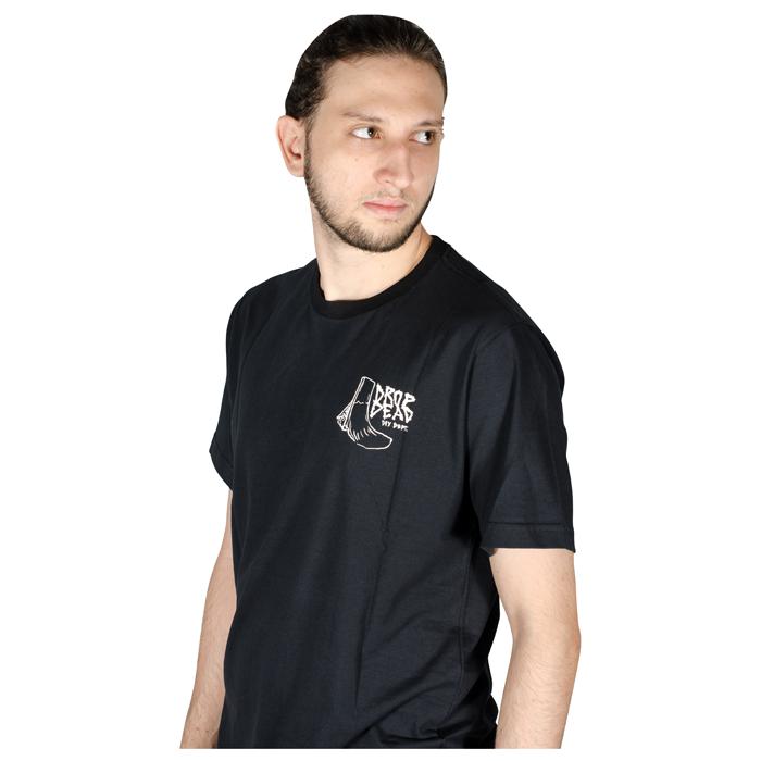 Camiseta Drop Dead Diy Dept Preta 70241011