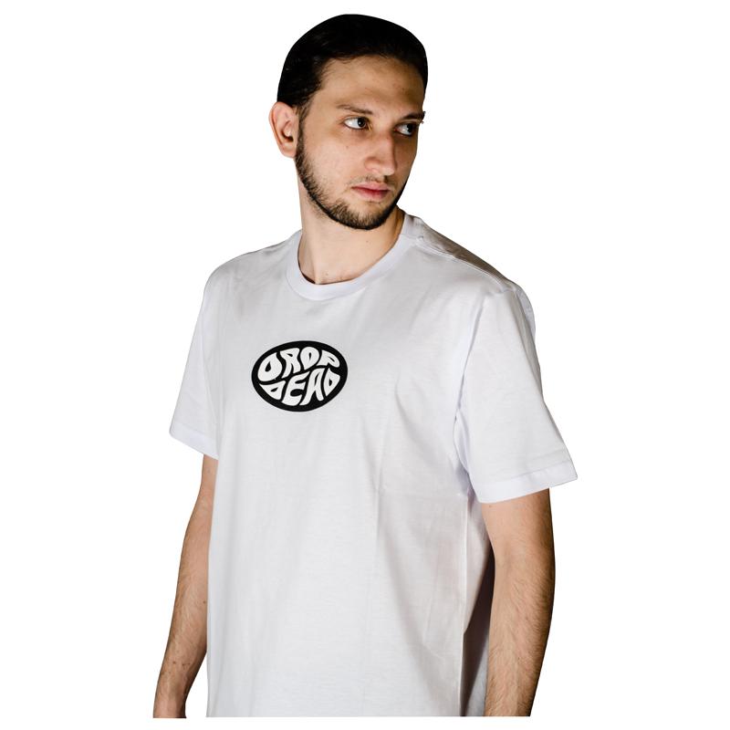 Camiseta Drop Dead Flow Branca 70241016