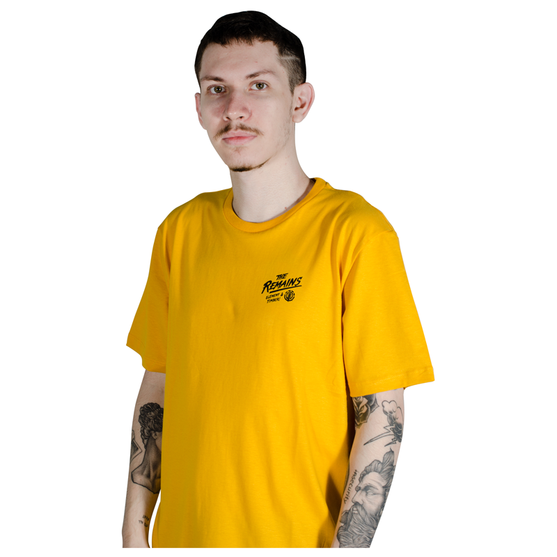 Camiseta Element & Timber Liberty Amarela