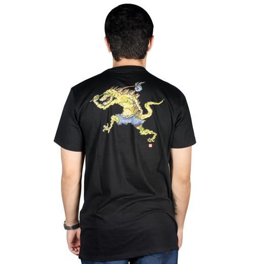 Camiseta Element Tuckwei Preta