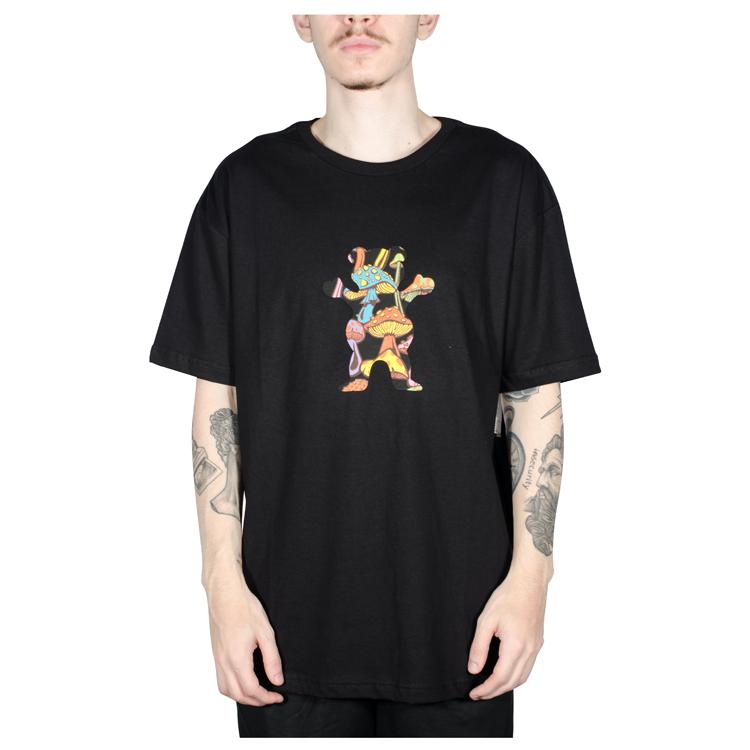 Camiseta Grizzly Fungi OG Bear Preta