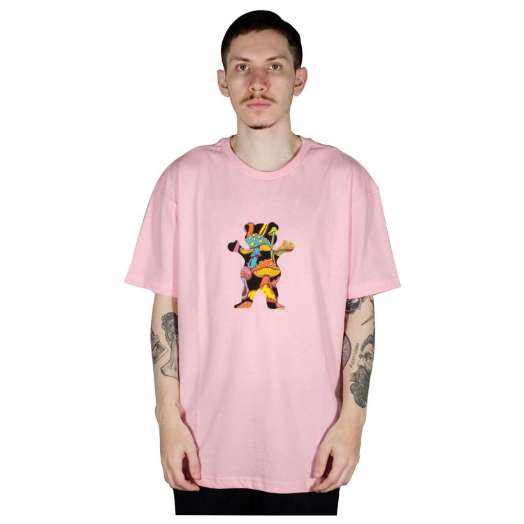 Camiseta Grizzly Fungi OG Bear Rosa