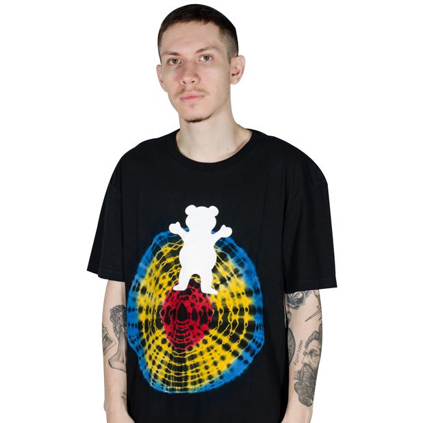 Camiseta Grizzly OG Bear Quartz Big Preta