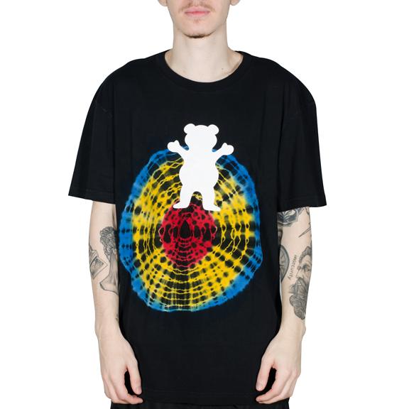 Camiseta Grizzly OG Bear Quartz Preta