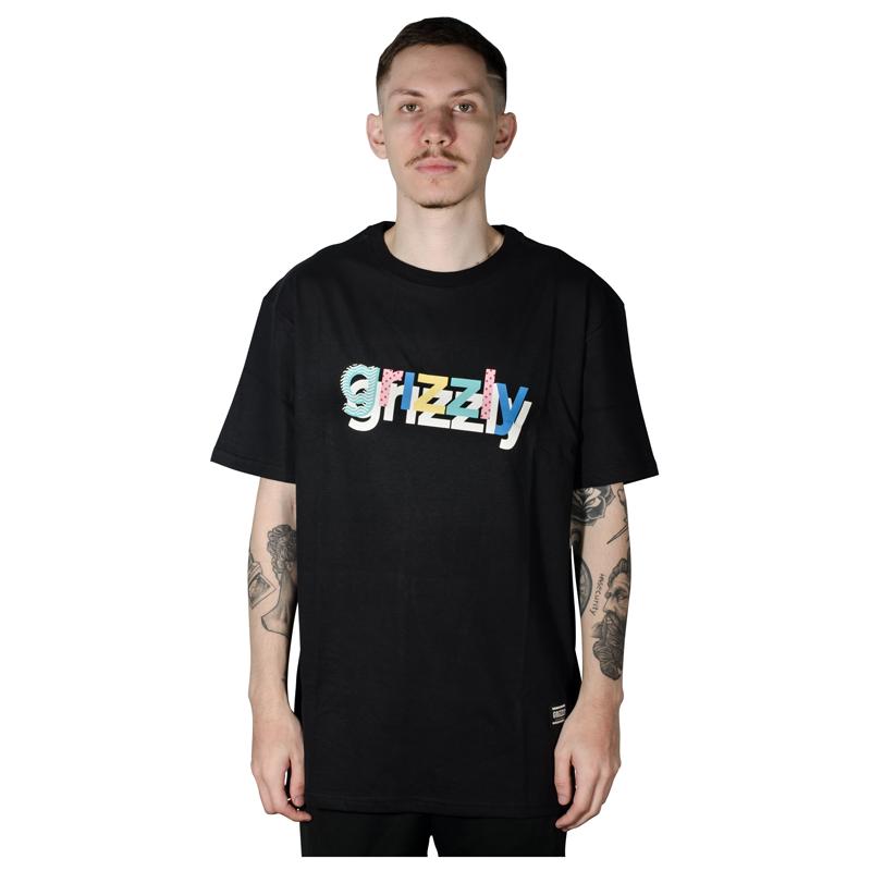 Camiseta Grizzly To The Max Tee Preta