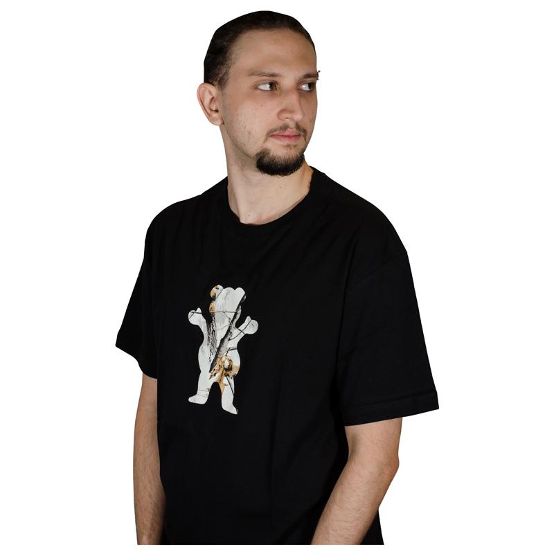 Camiseta Grizzly Winter Camo OG Bear Preta GMD2001P17