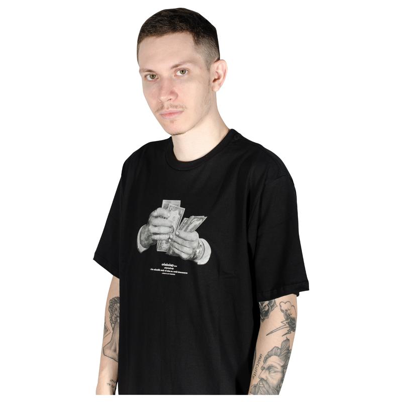 Camiseta HUF Criminology Preta