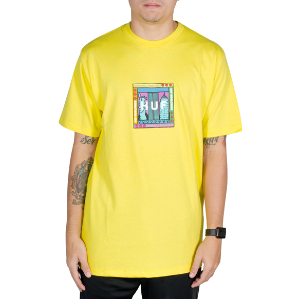 Camiseta Huf Gift Shop Amarela