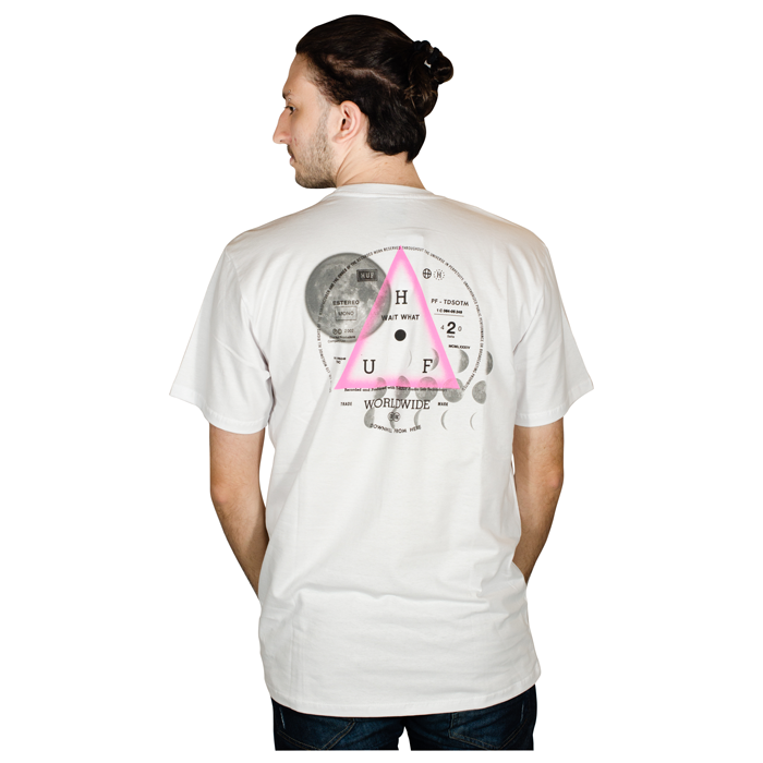 Camiseta Huf Moons Branca HFTS010009