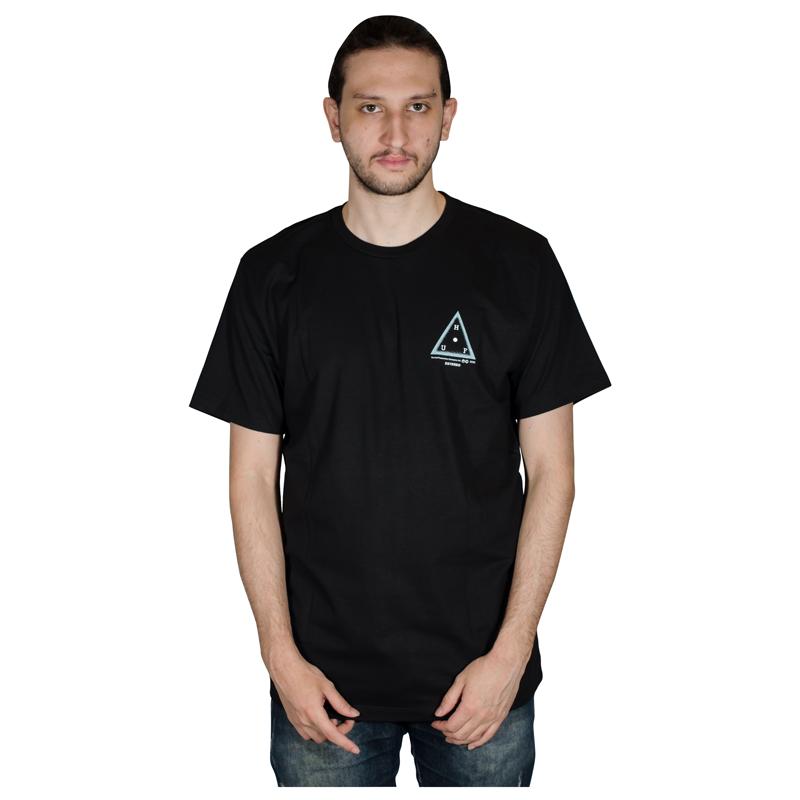 Camiseta Huf Moons Preta HFTS010009