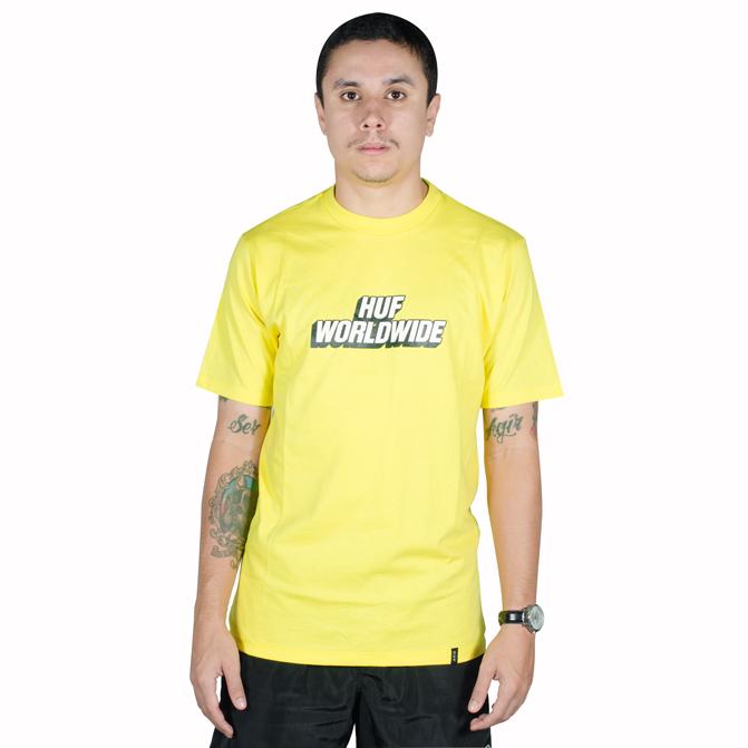 Camiseta Huf Postal Amarela