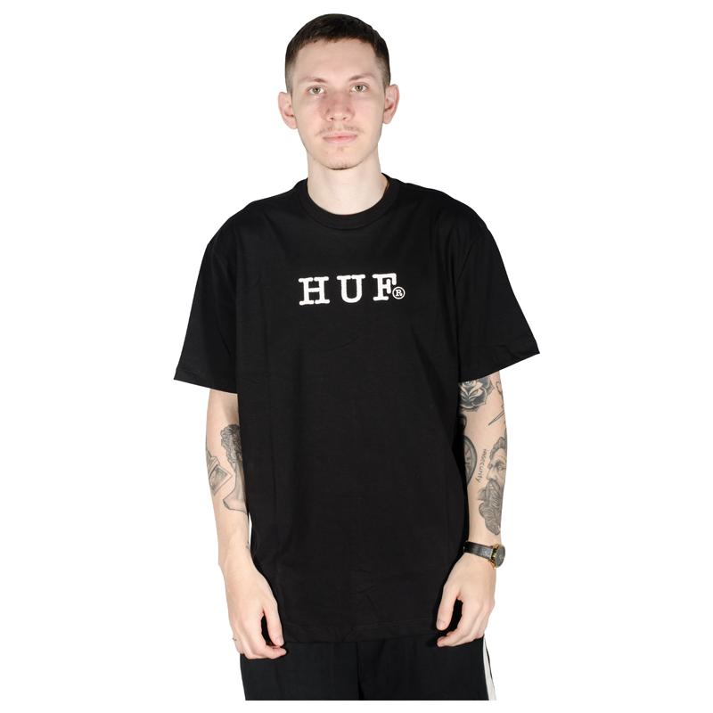 Camiseta HUF Psycho Daises Preta