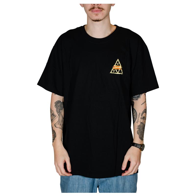 Camiseta Huf X Street Fighter II Blanka Preta