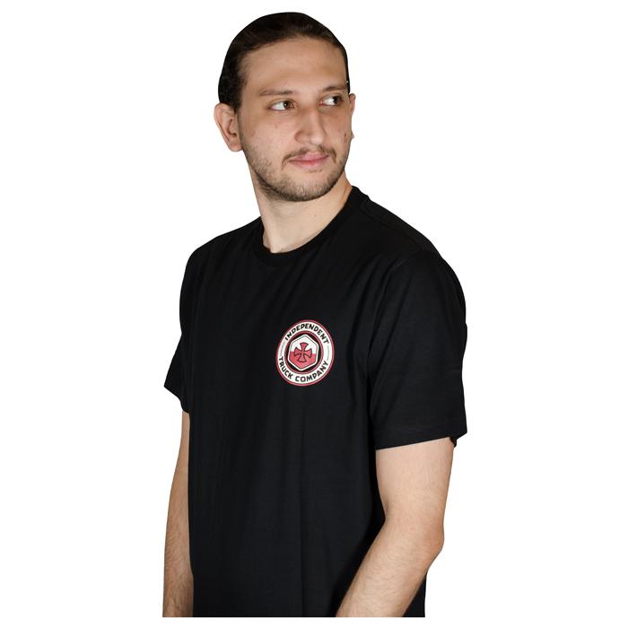 Camiseta Independent Blockade Preta 60241007