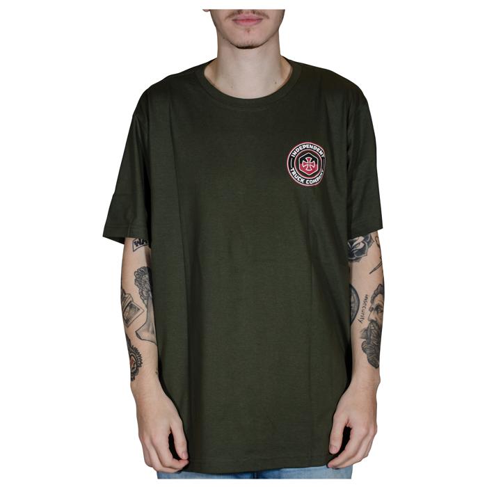 Camiseta Independent Blockade Verde 60241007