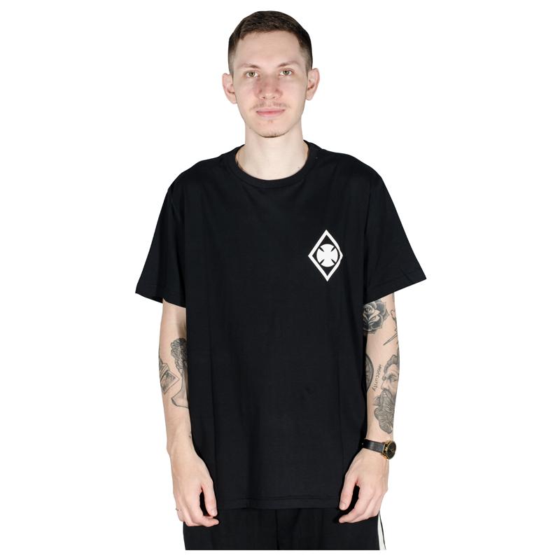 Camiseta Independent Ripped Preta