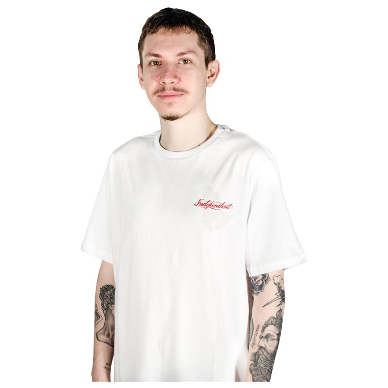 Camiseta Independent Rosary Branca