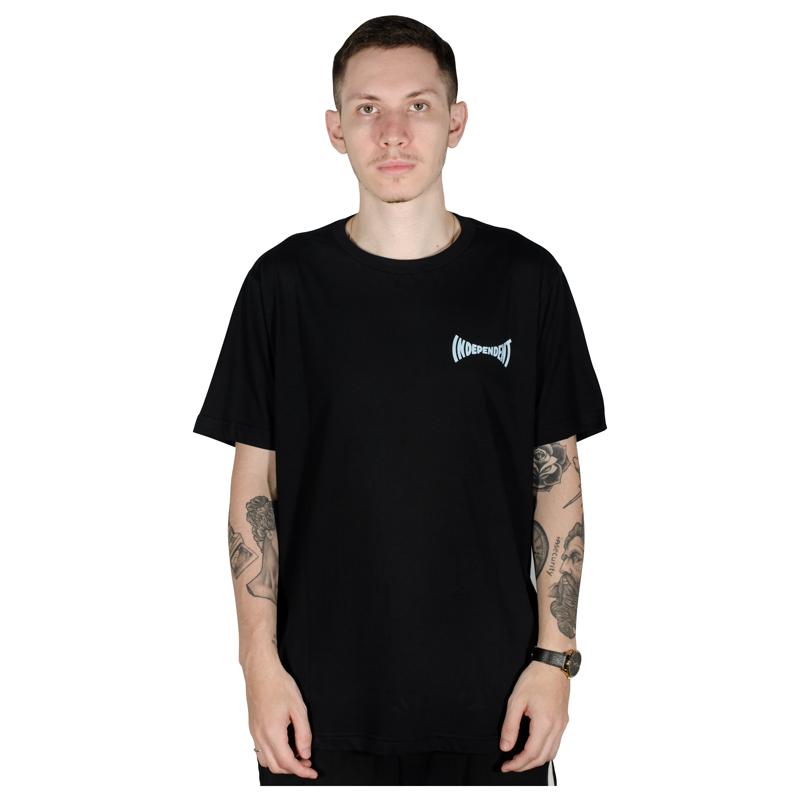 Camiseta Independent Tilted Preta