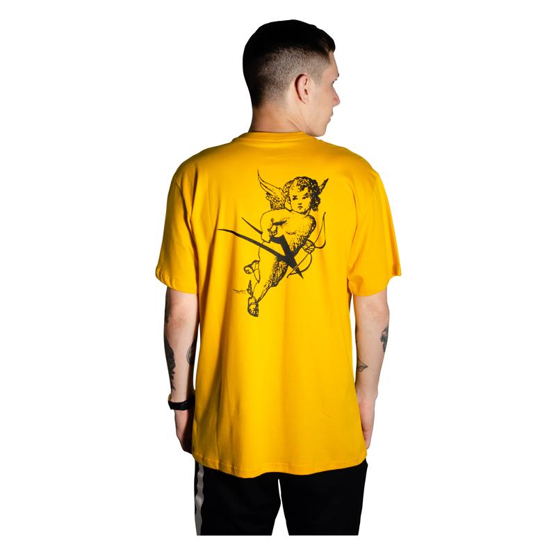 Camiseta Lakai Cherub Amarela